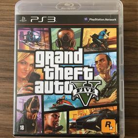 Jogo Grand Theft Auto V Gta 5 Ps3 - Mídia Física - Seminovo