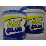 Pasta Adhesiva Aki Glue Para Moldaduras,no Mas Clavos 1/4