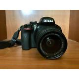 Cámara Nikon D3400 Con Lente 18-55mm