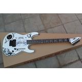 Guitarra E S P Hammett Ouija Blanca