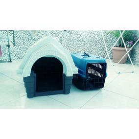 Vendo Casa E Gaiola De Viagens Para Cães Em Perfeito Estado.