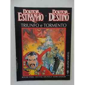 Graphic Marvel Nº 5! Doutor Estranho E Destino! Jan 1991!