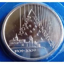 Alemanha-moeda Prata 10 Euros-2009-face-33 Mm