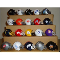 Mini Cascos Nfl Marinela Versiones Retro, 40 Modelos