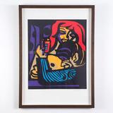 Emiliano Di Cavalcanti - Mulata E Dança 27/100 Serigrafia