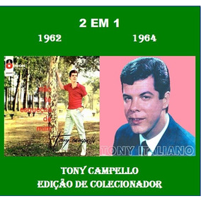 Cd Tony Campello - 2 Lps Em 1 Cd - 1962 & 1964 - Raridade