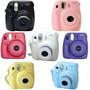 Camara Fuji Instax Mini 8 + Cartucho Para 20 Fotos Y Estuche