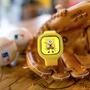 Relógio Bob Esponja Amarelo Novidade Personalize Do Seu Jeit
