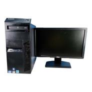 Computadora Seminueva Lenovo Corei5 4gb 500gb Monitor 19
