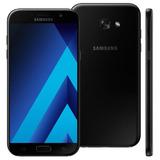 Smartphone Samsung Galaxy A7 Câm 16mp Preto 32gb [vitrine]