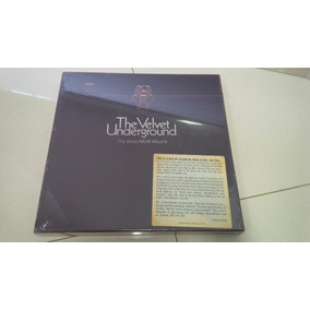 Velvet Underground The Verve/bmg 5 Lps Import Novo Lacrado