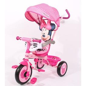 Triciclo Disney Direccional Infantil Bebe Asiento Reductor
