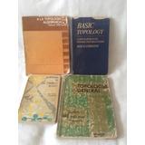 4 Libros De Topologia Gral. Algebraica