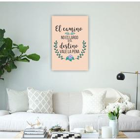 Cuadros Decorativos Frases Impresos Vinilos 20x30 Cm