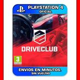Driveclub Ps4 :: Digital :: Stock Permanente Pedilo