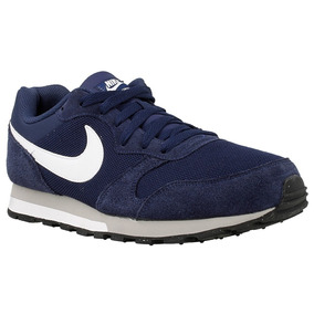 Zapatilla Moda Nike Md Runner 2 Hombre Azul Marino 749794410