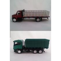 Kit Miniaturas Caminhão International + Scania Licenciados
