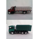 Kit Miniaturas Caminhão International + Scania Licenciados