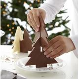 Molde Silicon Árbol Pino Navidad 3d Armable Jabón, Chocolate