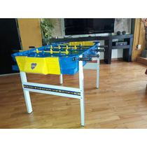 Metegol Boca Juniors Familiar De Aluminio Reforzado