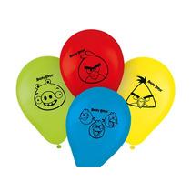 Bexiga 9 Tema Angry Birds-decoração Festa Infantil-25 Unid.