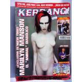 Revista Kerrang - Nº 59 - Marilyn Manson - Con Posters
