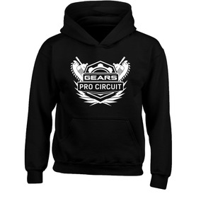 Sudadera Gears Of War Pro Circuit Major League Gaming Ghost