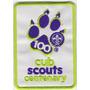 Insignia Scout Centenario Del Lobatismo Mundial