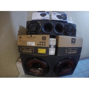 Combo Audio Car Jbl Selenium Soundstream Bomber Soundigital