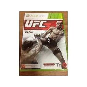 Ufc Undisputed 3 - Jogo Xbox 360 - Lacrado Pronto Envio