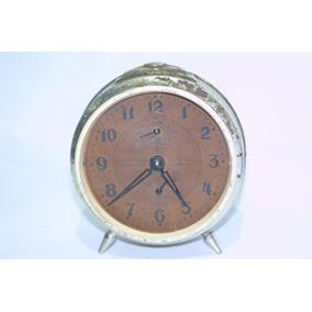 Relógio De Mesa Antigo Oh