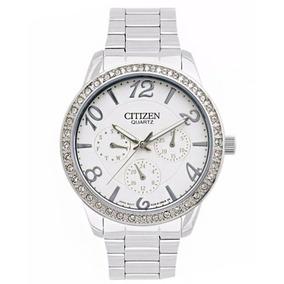 Reloj Citizen Ed812054a Mujer Multifuncion Fecha Dia Am Pm