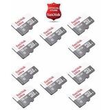 10 Micro Sd Ultra 16gb 80mbs Class10 Lacrado Garantia 7 Anos