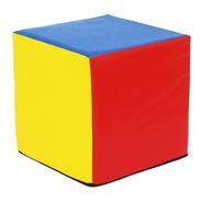 Cubo De Gomaespuma 20x20x20 Con Cierre + 6 Bolsillos