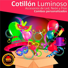 Cotillón Luminoso Combo L E D 250 Invi - Maq Fluo - 590 Arts