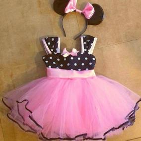 Vestido Disfraz Minnie Para Nenas