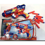 Arma Pistola Spider Man Lançador Nerf Atira Dardos