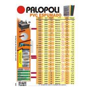 Pvc Espumado Rojo O Negro 1.22x2.44m 2mm Palopoli