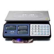 Báscula 40kg Con Detector De Billetes Mettria - Mtuv40 Black