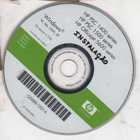 Cd De Instalação Para Impressora Hp Psc 1400-1410-1500-5600