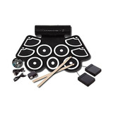 Kit Batería Midi Con Parlantes Electronic Drum Proglobal