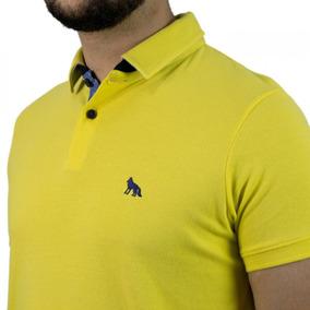 Camisa Polo Masculina Acostamento Manga Curta 68104063