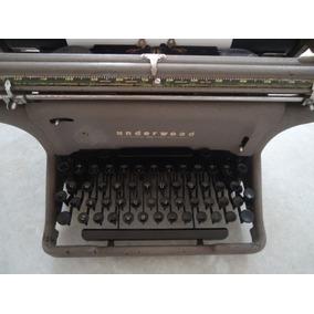 Máquina Escrever Antiga - Underwood - Ano 1930 - Eua