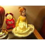 Bella Y La Bestia Disney Store Original Princesas Peluche