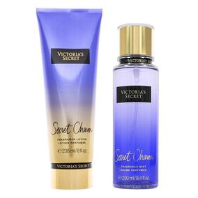 10 Un Novo Kit Creme + Splash Victoria Secret Varias Fragran