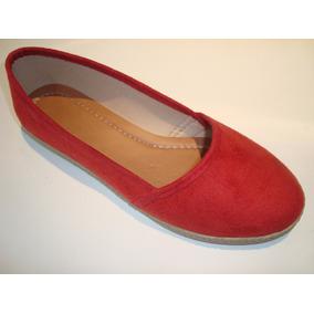 Sapatilha Alpargata Red Blue Conforto Vermelha Varejo
