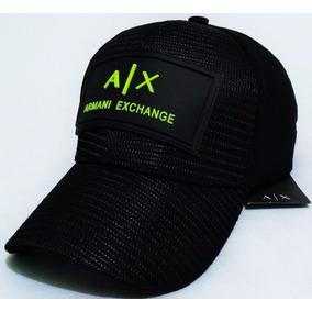 Gorra Armani Exchange Cerrada Flexfit Nueva ¡envío Gratis!