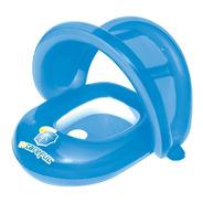 Salvavidas Bebe Con Techo Proteccion Uv Inflable Pileta