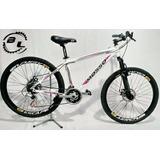 Bicicleta Aro 26 Mosso 21v Com Shimano E Freio A Disco