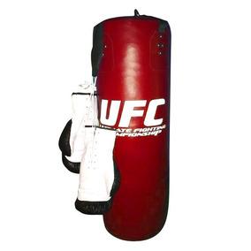 Kit Boxeador : Costal 90 Cm + Guantes De Box 16oz